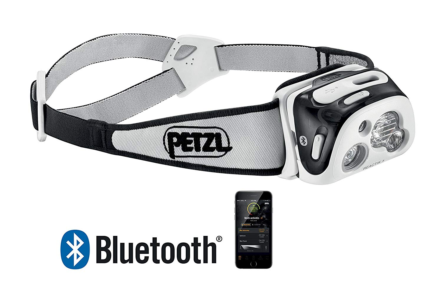 petzl reactik+ bluetooth